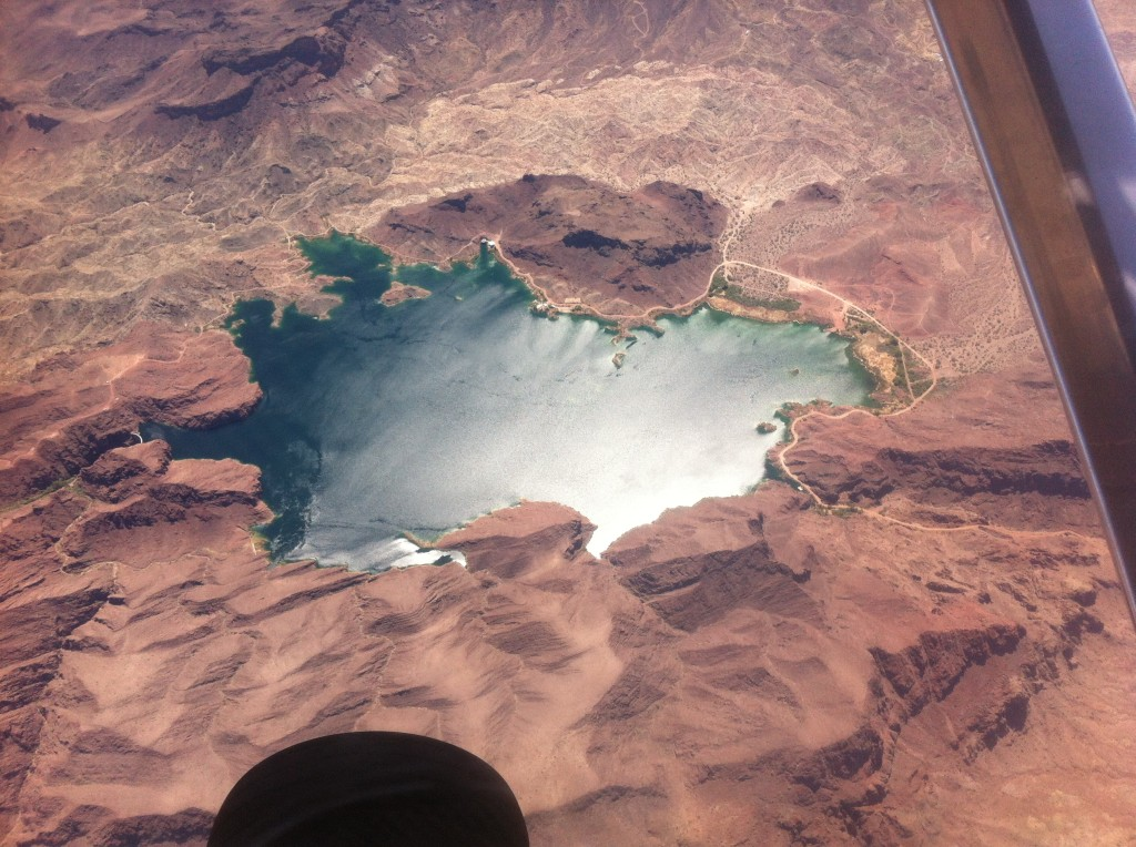 A beautiful reservoir near Lake Havasu.